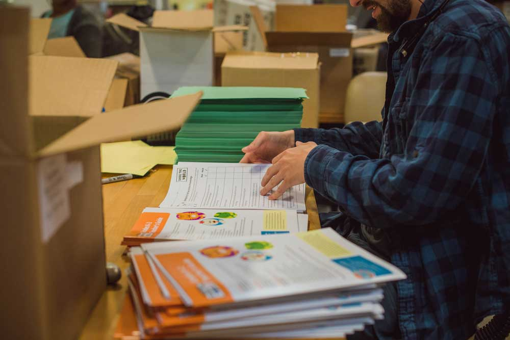 Mailing production