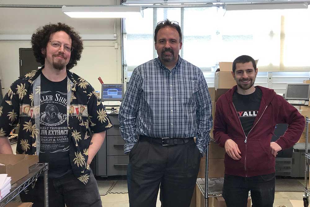 KT Production staff with Tim Tatistcheff